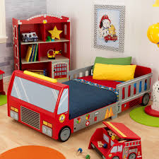 Kidkraft Racecar Bookcase Kidkraft Fire Truck Toddler Bed 76021 Hayneedle