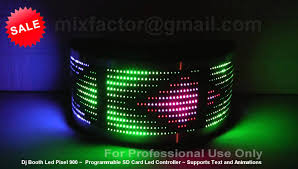 for sale brand new professional dj booth led pixel programmable sd
