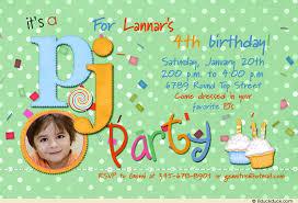 fun pajama party invitations photo pj birthday child