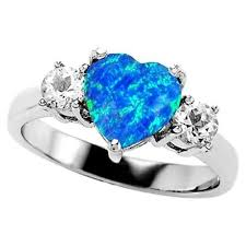 blue opal engagement rings best 25 blue opal ring ideas on opal jewelry