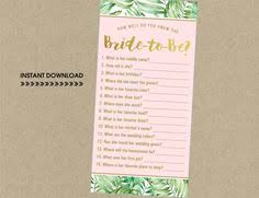 instant download pineapple glitter bridal games package luau