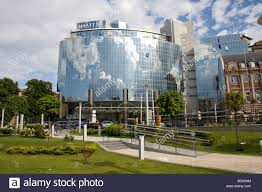 hyatt hotel kiev ukraine stock photo royalty free image