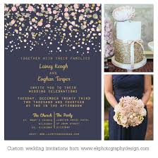 wedding invitations kilkenny weddinginspiration gold and blush polkadot navy back pinteres