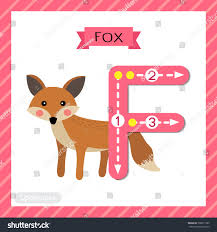 letter f uppercase cute children colorful เวกเตอร สต อก 700811365