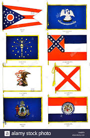 Flag Rank First Published 1917 Flag Flags Standard Ohio Lousiana Indiana
