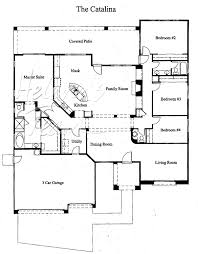 Split Floor Plan by Models Sienna Canyon By Coventry Homes Mcdowell Mountain Area