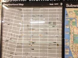 New York Mta Map by Mta U0026 Nyc Dot Introduce Uniform New Walknyc Neighborhood Maps