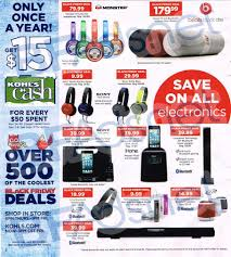 kohls thanksgiving deals 2014 kohl u0027s black friday 2014 ad coupon wizards