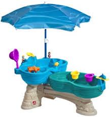 step 2 rain showers water table amazon com step2 rain showers splash pond water table playset toys