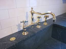 Kitchen Faucet Bridge Unlacquered Brass Kitchen Faucet Gorgeous Unlacquered Brass A