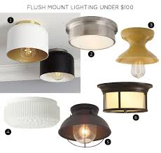 Flush Lighting Fixtures Nantucket Ceiling Light The 30 Best Flush Mount Lighting
