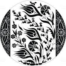 Ottoman Tulip by Ottoman Tile Motif Turkish Ceramic Design Tulips And Carnation