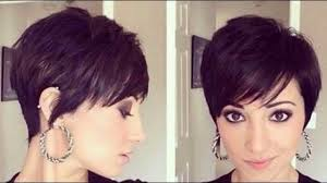 2017 short haircuts for women with thin hair youtube