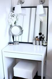 Large Bedroom Vanity Makeup Vanity Table And Bench Black Antique Wood Makeup Vanity