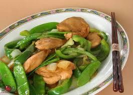 comment cuisiner les pois mange tout sauté de poulet et pois mange tout