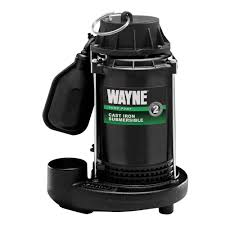Water Pump Home Depot Wayne 1 3 Hp Cast Iron Submersible Sump Pump With Tether Float