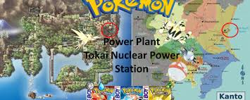 Map Of Pokemon World by