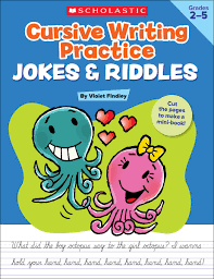 cursive writing practice jokes u0026 riddles violet findley