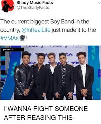 Boy Band Meme - shady music facts the current biggest boy band in the country just