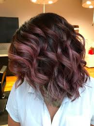 chocolate mauve hair color trend popsugar beauty