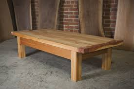 custom three cedar outdoor coffee table by the nico workshop