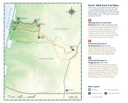 First Landing State Park Trail Map by Poets U0027 Walk Park Scenic Hudson