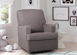 swivel glider chairs living room henry nursery glider swivel rocker chair delta children u0027s products