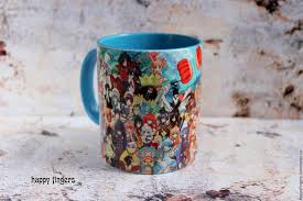 handmade mugs buy mug anime characters anime one piece fairy tail attack