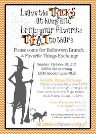 ideas about creative halloween invitation wording for your
