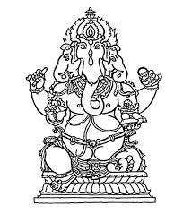 kaufen lord ganesha outline best seller clip art library