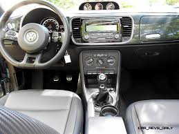 volkswagen beetle convertible interior road test review 2014 volkswagen beetle r line convertible