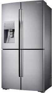 Counter Depth Stainless Steel Refrigerator French Door - rf23j9011sr samsung 4 door refrigerator 36