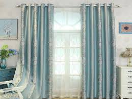 Green And Blue Curtains Curtain Blue Curtains Living Room Curtain Gray For Roses