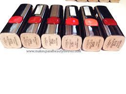 all loreal paris color riche moist matte lipstick review shades