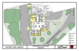 colby college floor plans library renovation city of takoma park