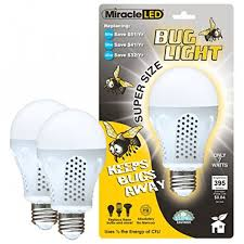 bug light light bulbs miracle led 604734 7 watt super bug light bug free porch