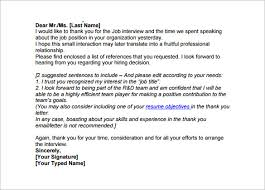 sample thank you email medical field post interview thank you