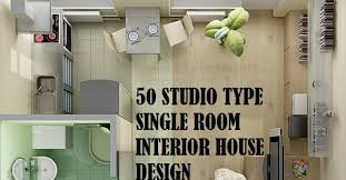 desain interior apartemen studio 50 studio type single room house lay out and interior design