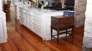 Flooring Ideas Modern Heart Pine Flooring For White Kitchen