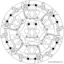 spectacular simple mandala coloring pages with mandalas coloring