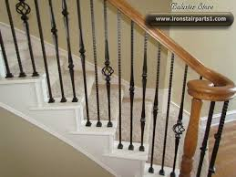 Replacing Banister Spindles Wrought Iron Stair Spindles Wrought Iron Balusters Stair Part