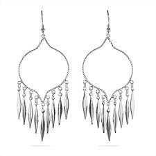 silver chandelier earrings style sterling silver chandelier earrings s addiction