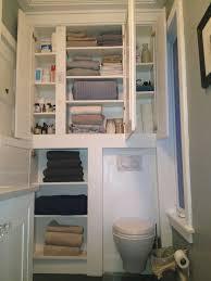 bathroom gray vanity with towel shelf airmaxtn