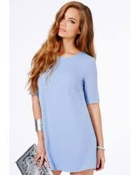 light blue shift dress missguided ponika swing shift dress in baby blue where to buy