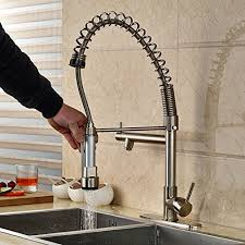 commercial style kitchen faucets votamuta professional single handle pull kitchen faucet