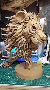 best 25 cardboard sculpture ideas on cardboard