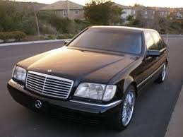 mercedes s class 1997 sell used 1997 mercedes s class s600 v12 sedan no reserve