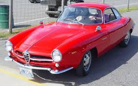 classic alfa romeo sedan alfa romeo giulia ss sprint speciale red front angle