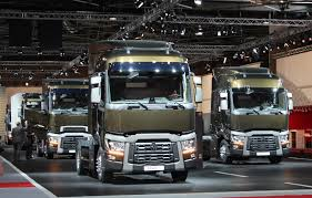 volvo truck range all new renault truck additions at the intermat trade show