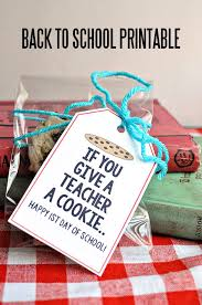 diy gifts ideas if you give a a cookie back to school
